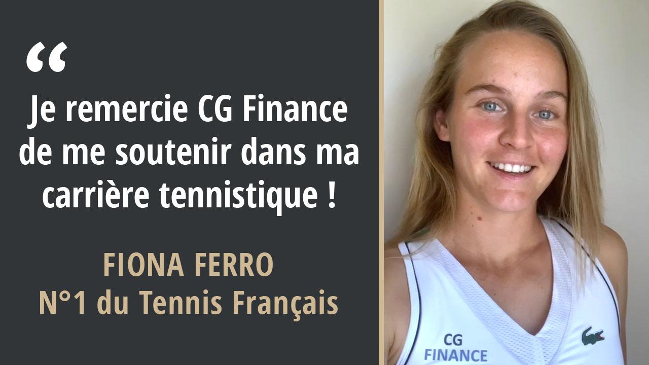 Fiona Ferro - CG Finance